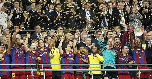 FC Barcelona Champions League 2011